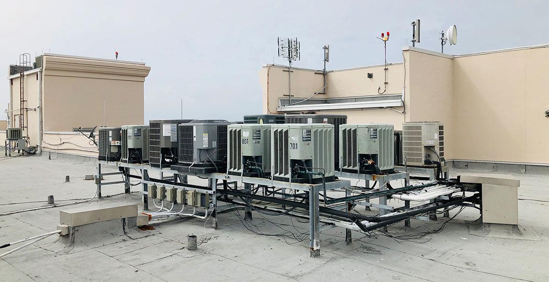 aire acondicionado azotea normativa